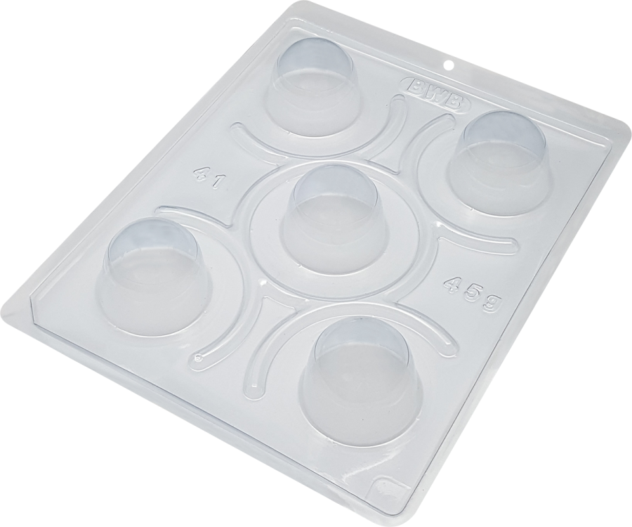 Bwb 41 - Special Small Truffle 3 part chocolate mould