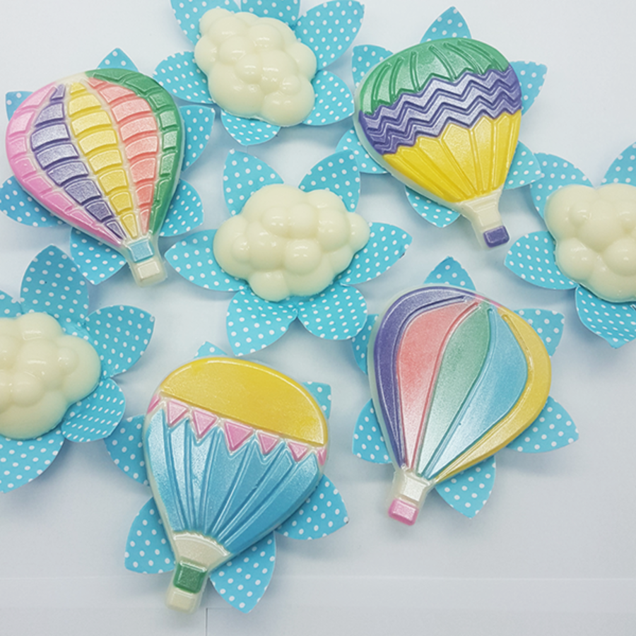 Air Balloons chocolate mould BWB 9708