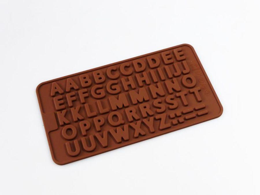 Mini Alphabet Letter Silicone Mould