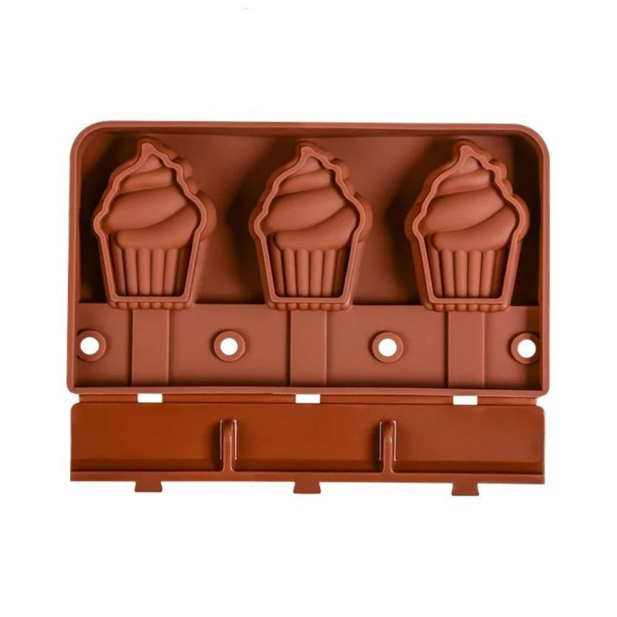 Cupcake Popsicle Mould