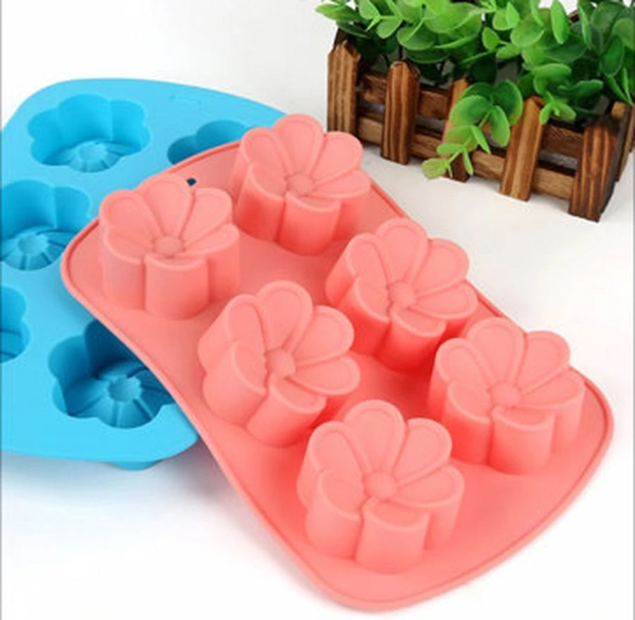 Flower Shaped Oreo Cakesicles Silicone Mold Baking tray