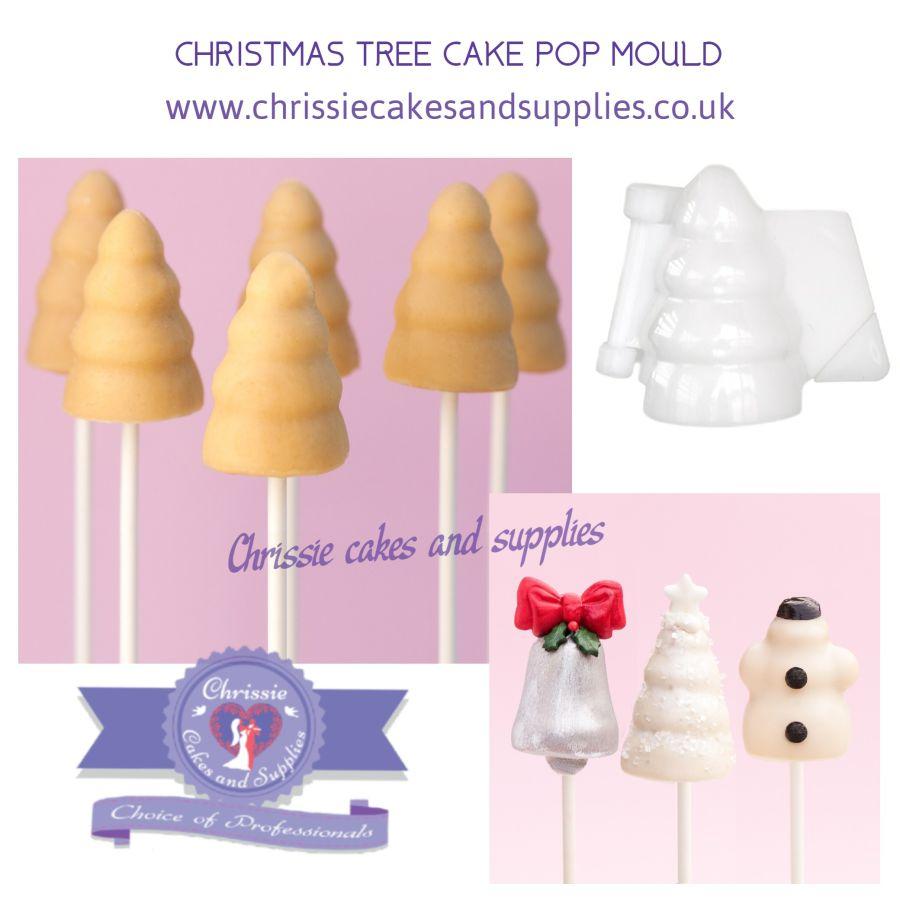 CHRISTMAS TREE CAKE POP MOULD