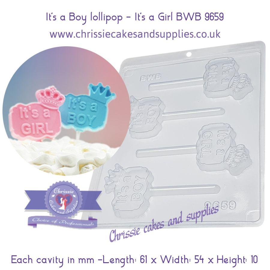 It's a Boy lollipop - It's a Girl BWB 9659