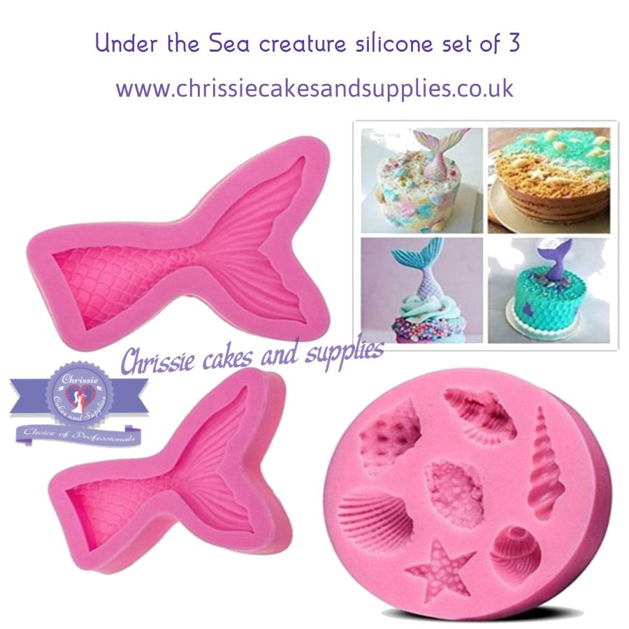 Under the Sea Creatures Silicone Mould