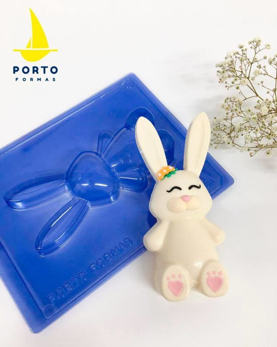 Easter Bunny PFM 91 - 3 part chocolate mould