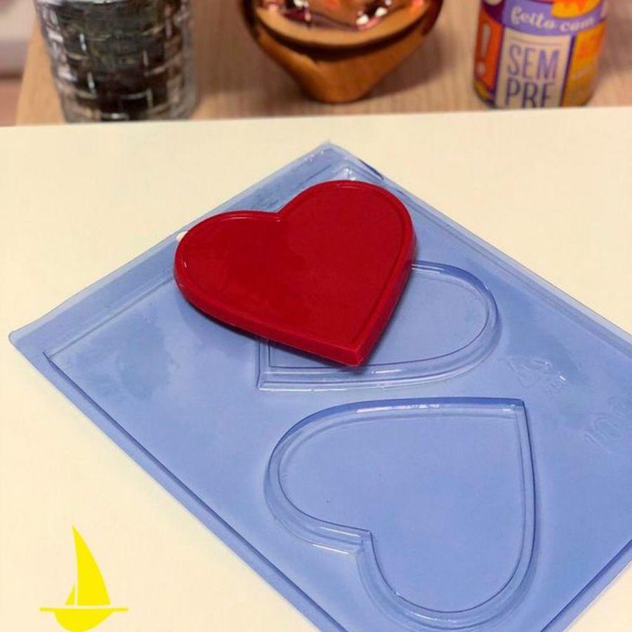 Heart Plate chocolate mould - PFM109