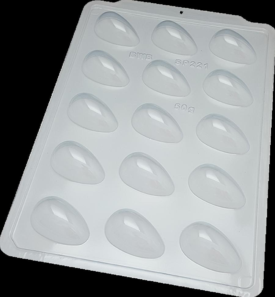 SIMPLE SP 221 Plain Egg 50g BWB 3623 Chocolate Mould