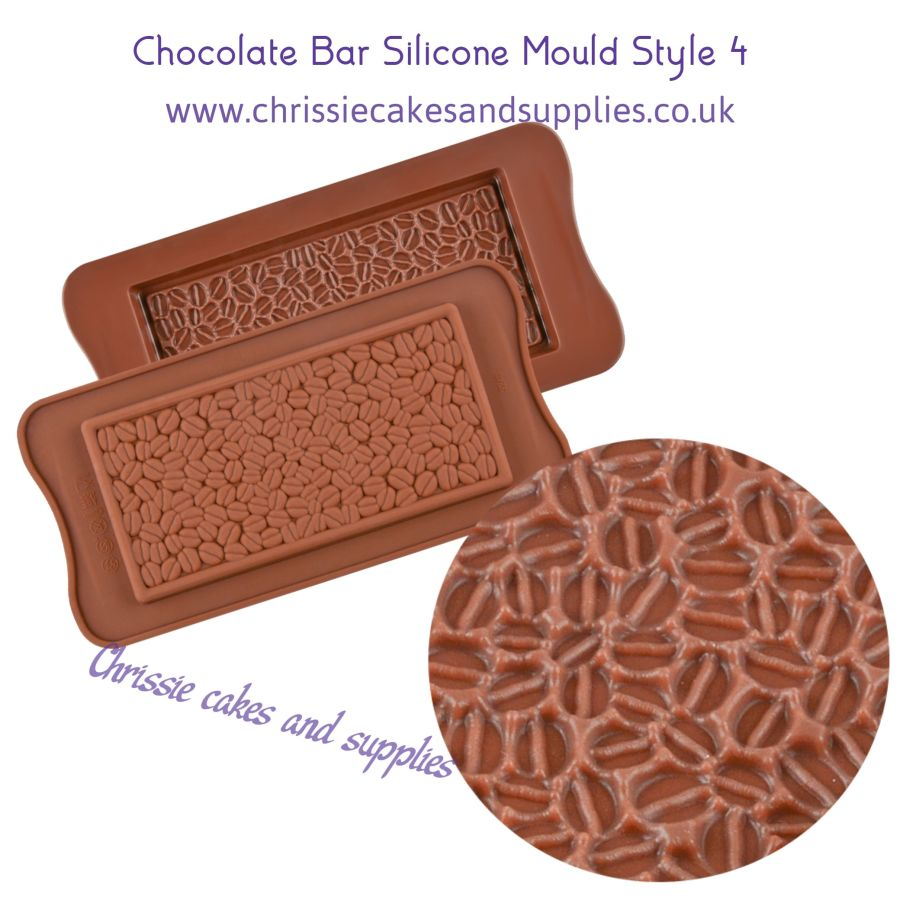 Chocolate Bar Silicone Mould Style 4