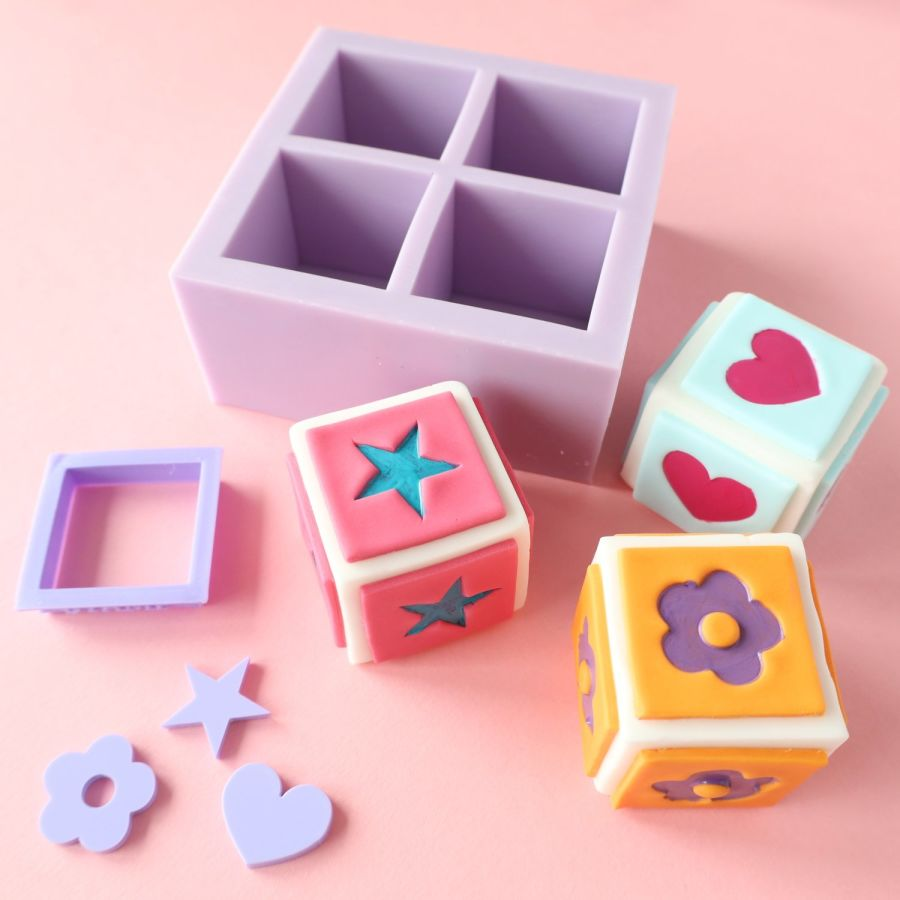 SWEETSTAMP BUILD A BLOCK MOULD KIT