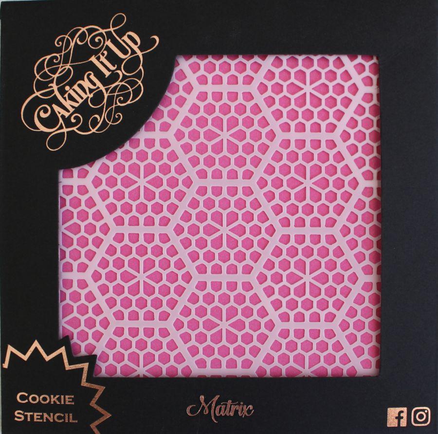 Matrix Cookie Stencil - Caking it Up