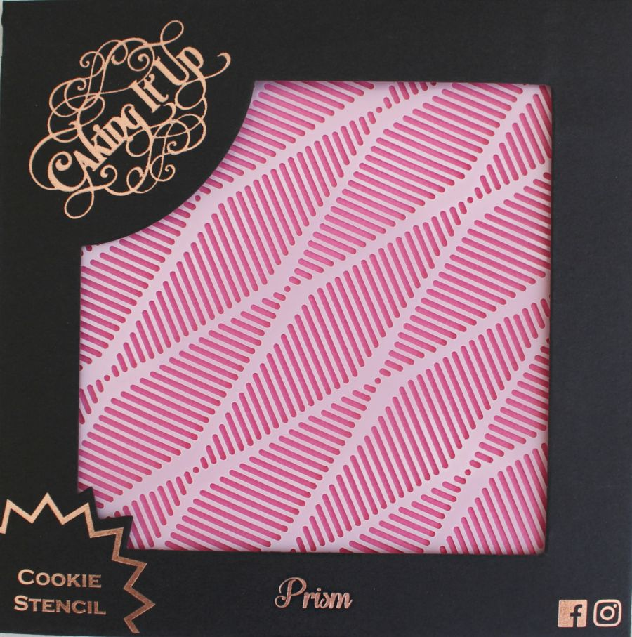 Prism Cookie Stencil - Caking it Up