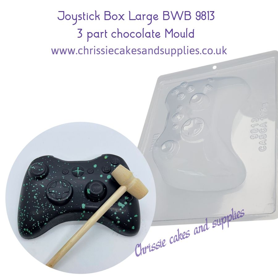 Large X-box controller 3 Part chocolate mould BWB9813