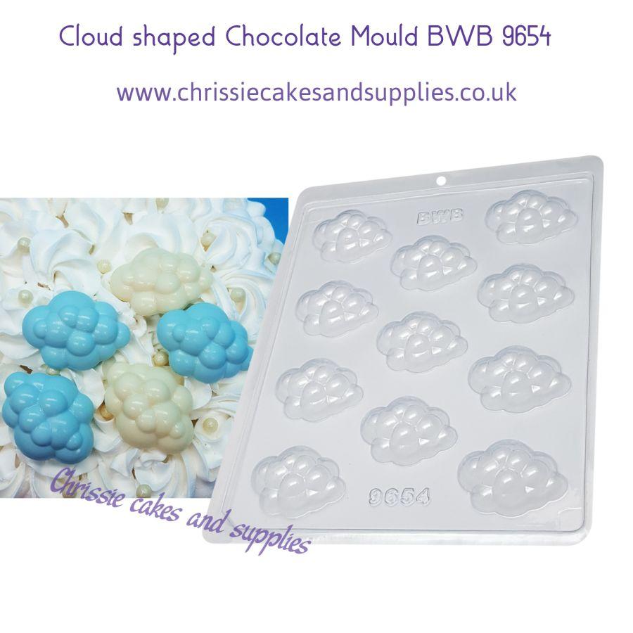 Cloud SIMPLE 10g Chocolate Mould BWB 9654