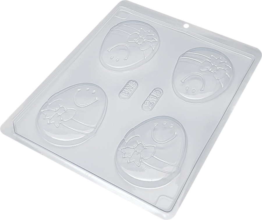 BWB215 - Egg Tablet 38g Single (Simple) part chocolate mould