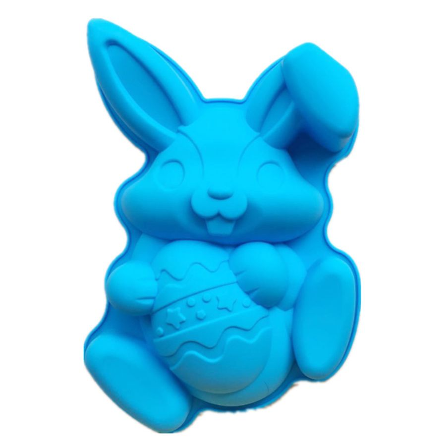 EASTER Bunny with Egg Breakable Silicone Mould- EX Large