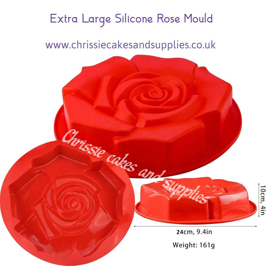 Extra Large Silicone ROSE  Mould