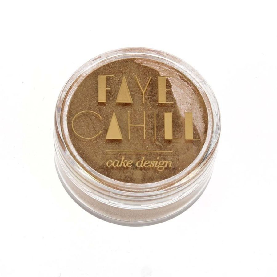Faye Cahill SIGNATURE GOLD 10ml luxury edible lustre dust icing colour