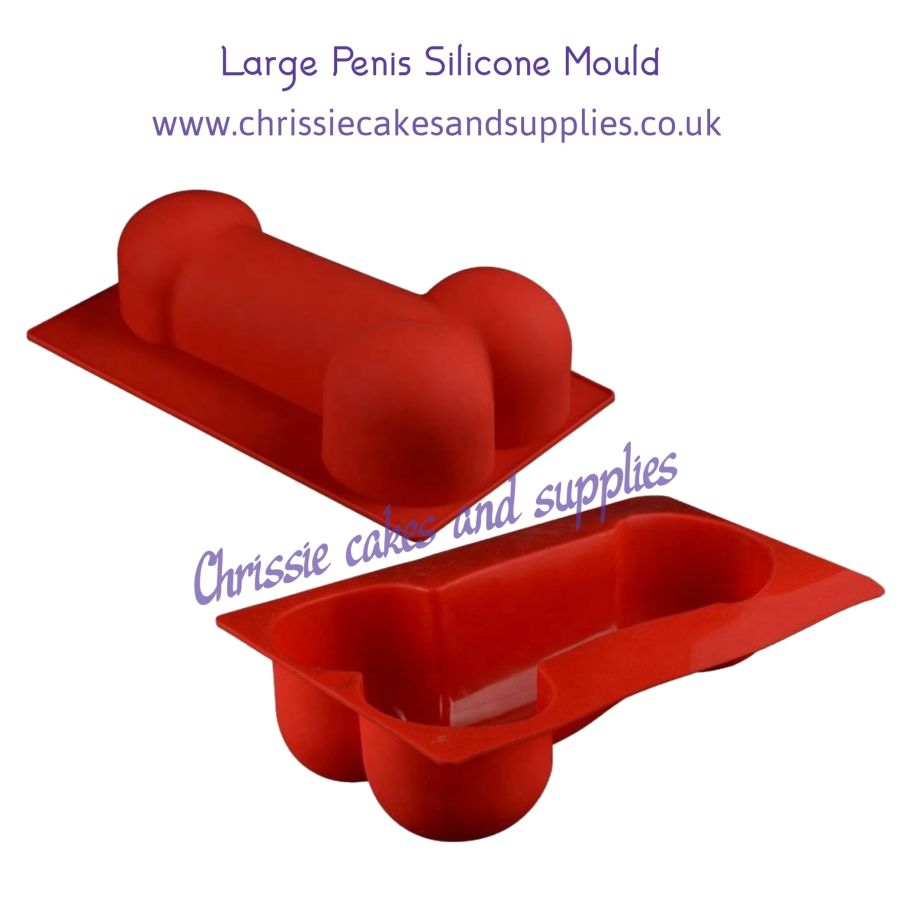 Large Penis Smash Breakable Silicone Mould