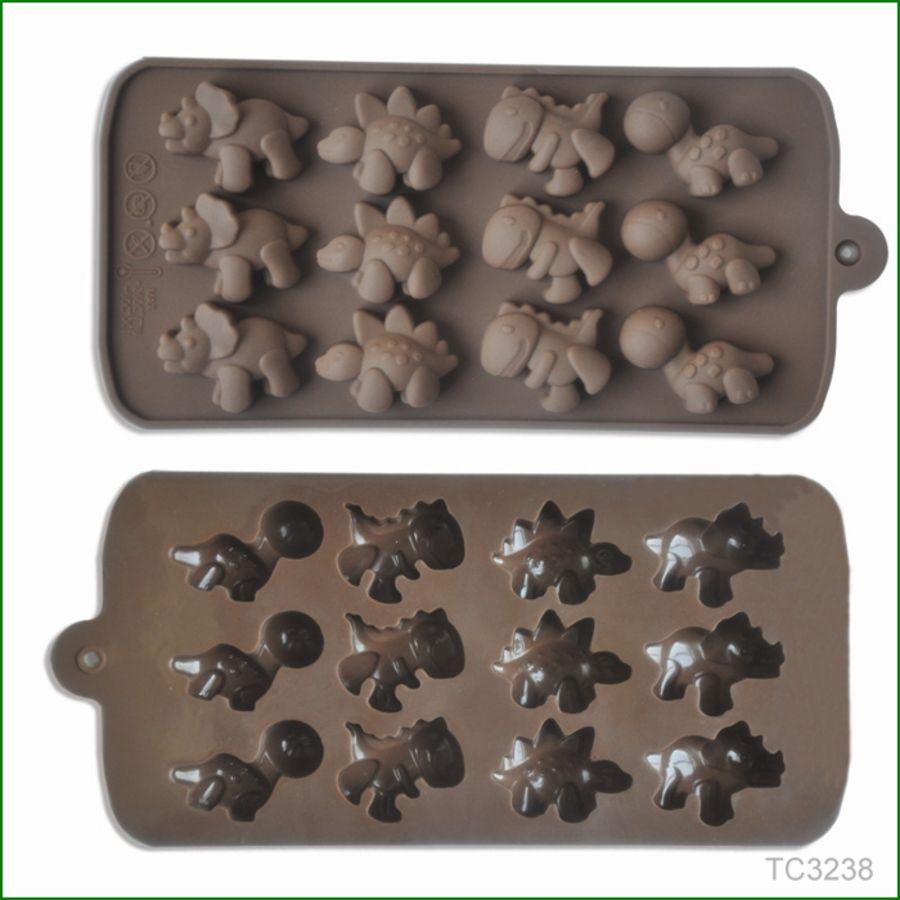 Mini Dinosaurs Chocolate mould - 12 cavity