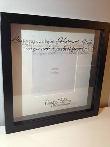 Husband & wife, best friends for life Box Frame