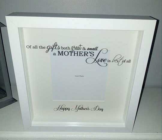 Box Frame Mothers Day A Mothers Love
