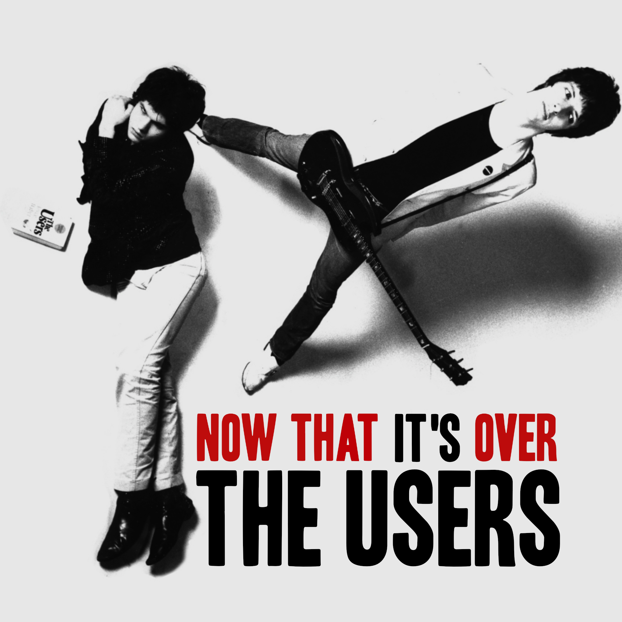 THE USERS Now That It's Over PINK VINYL 2nd press