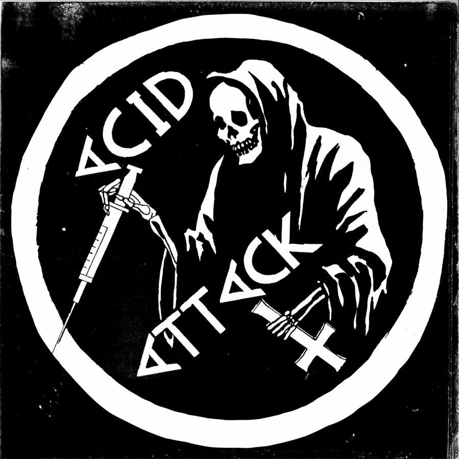 ACID ATTACK Suburbia's Dream 2nd Press Blue Vinyl