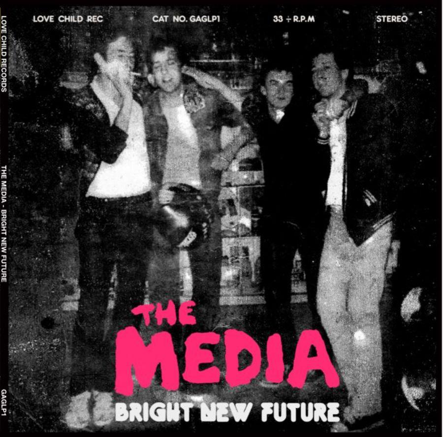 THE MEDIA Bright New Future LP BLACK VINYL