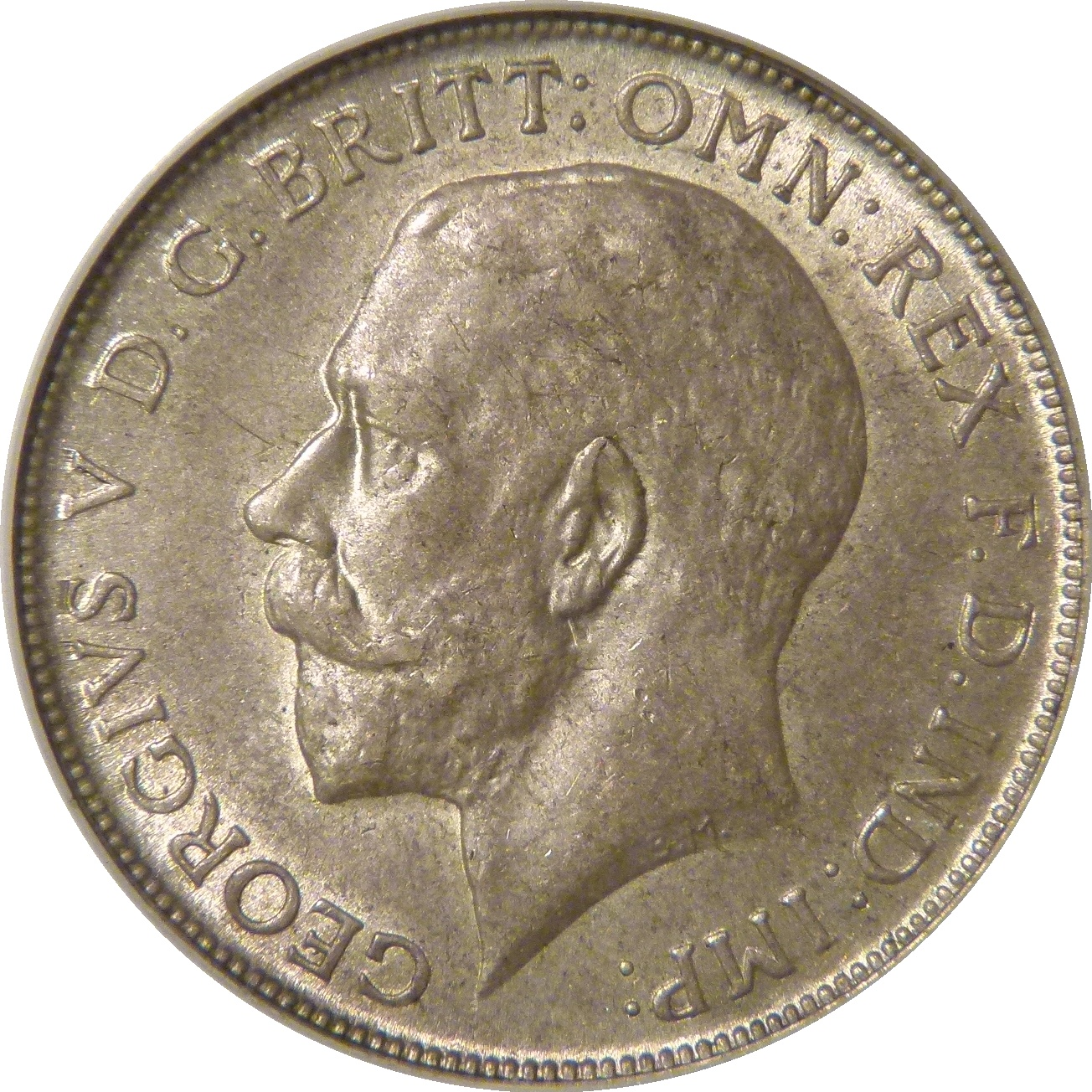 1919 Florin, CGS 70(MS 60-61), aUNC, George V, ESC 938, UIN 13796