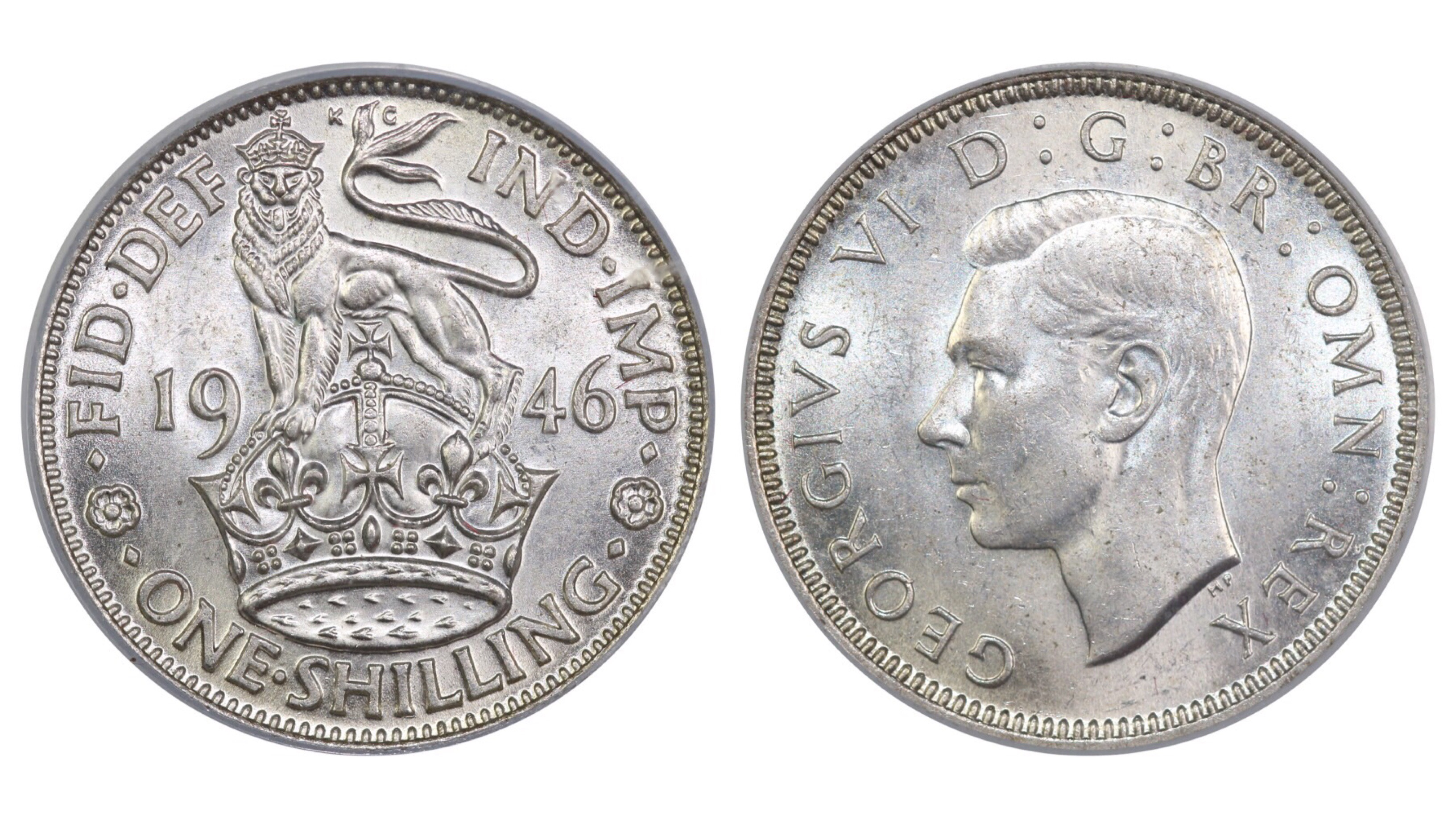 1946 'English' Shilling, CGS 78, George VI, ESC 1470, UIN 22502