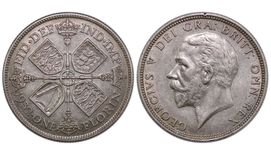 1932 Florin, nEF, George V, ESC 952