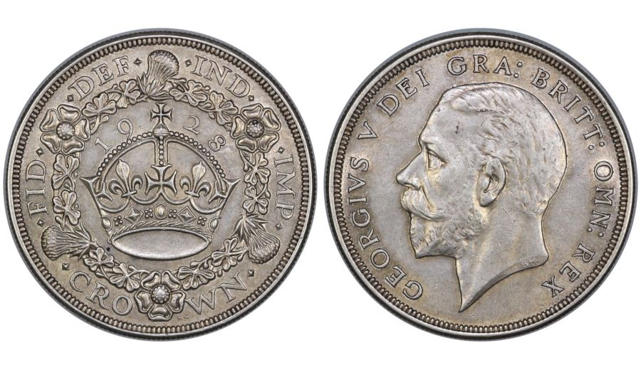1928 Crown, gEF or better, ESC 368