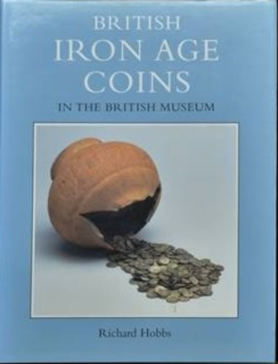 British Iron age coins in the British Myseum by Richard Hobbs, good cond.