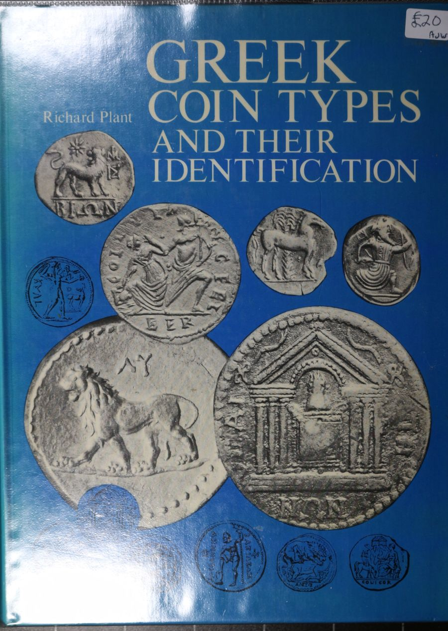 Greek coin types and their identification by Richard Plant