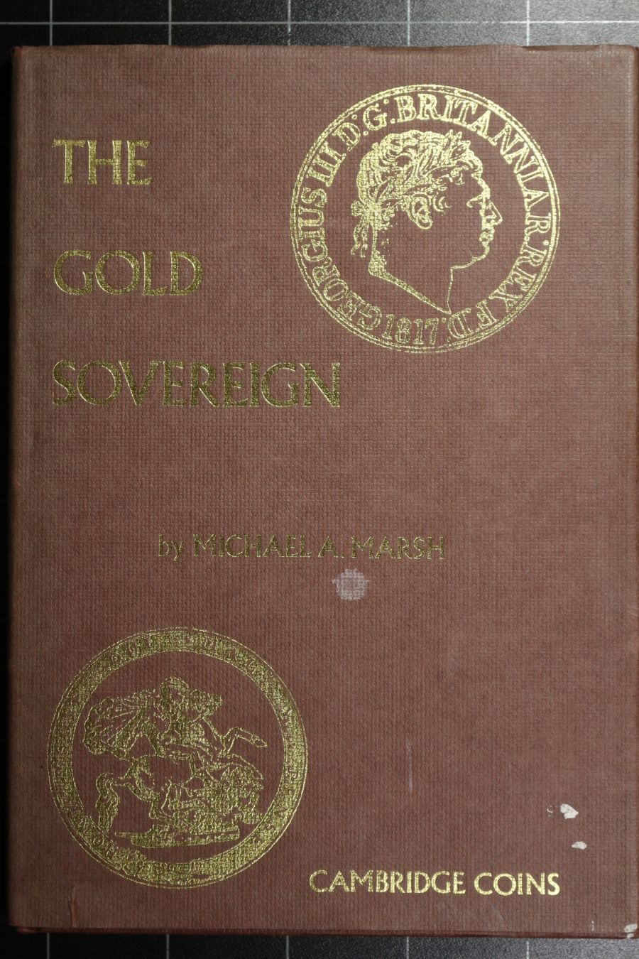 The Gold Sovereign by Michael Marsh, First edition 1980