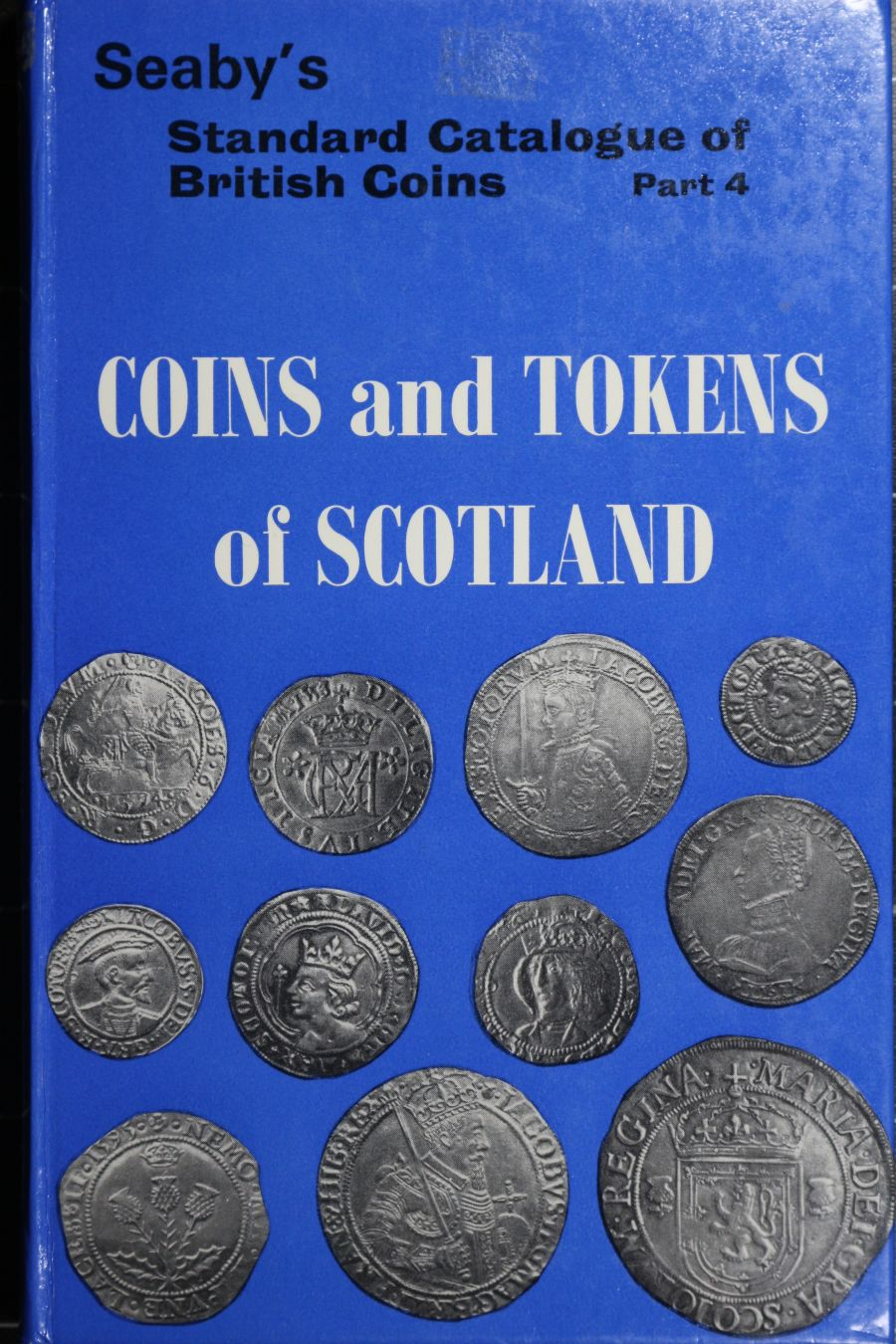 Coins and tokens of Scotland, Seaby's, First edition