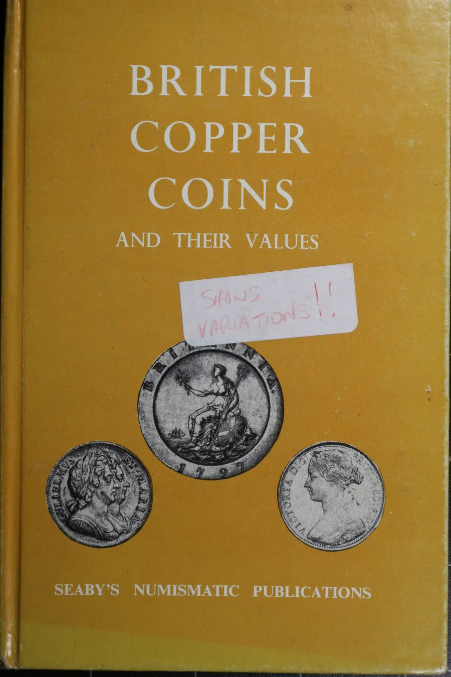 British copper coins and their values, P. J. Seaby
