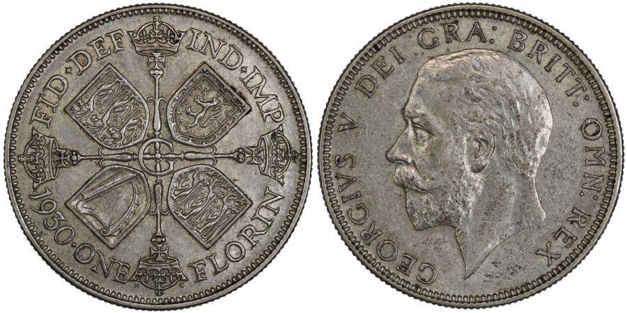 1930 Florin, nEF, George V, ESC 950