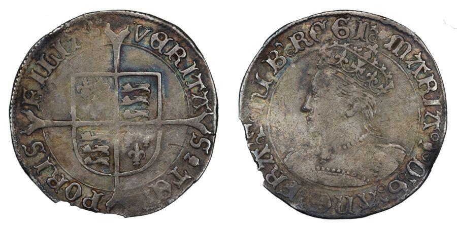 1553-54 Groat, Mary, aVF, North 1960, S.2492, EX BM 1964, Weight 1.9g
