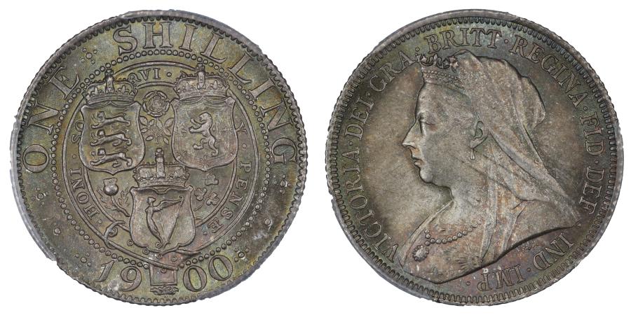 1900 Shilling, PCGS MS65, Victoria, ESC 1369, Bull 3165, C & R 1705 (Scarce)