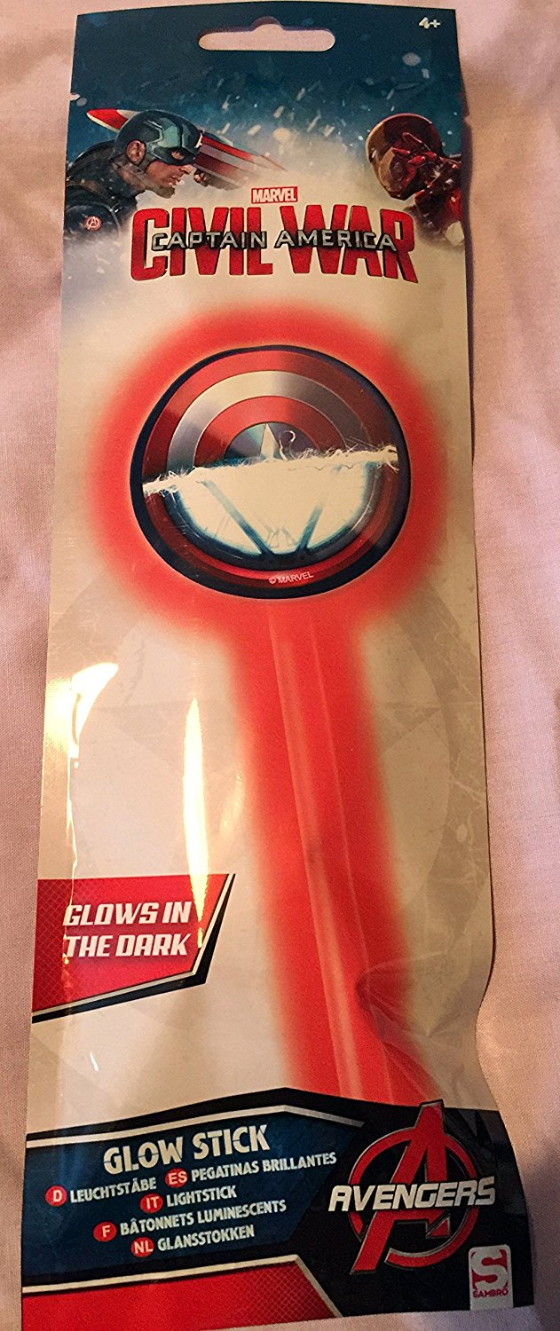 Captain America Civil War Glow Stick