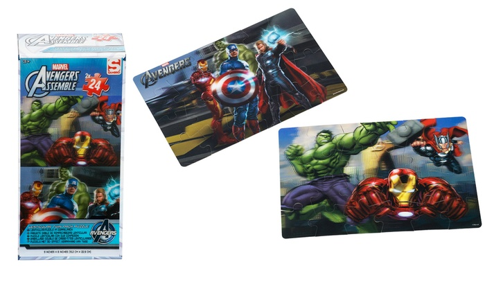 Avengers Lenticular Puzzle Twin Pack