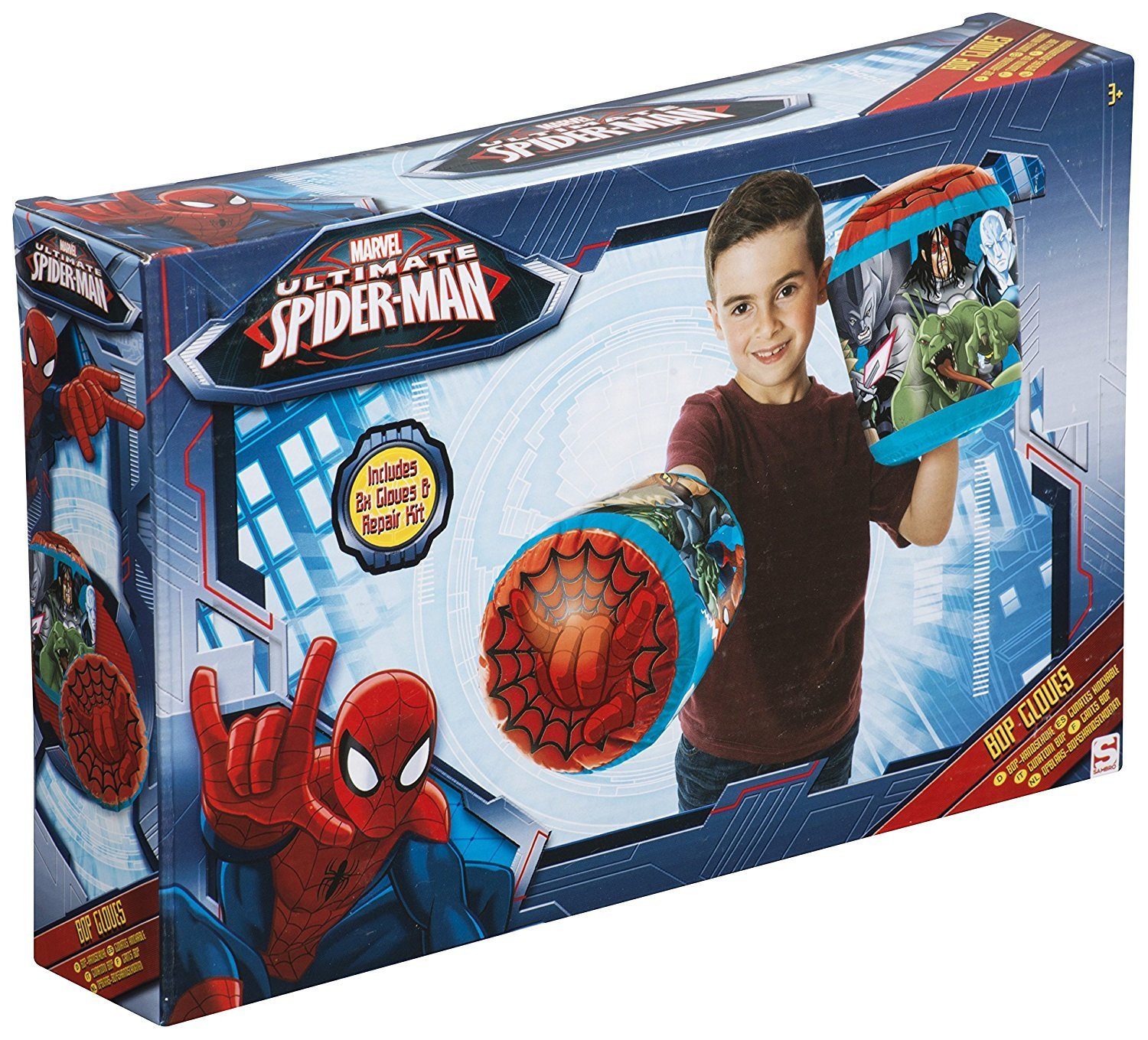 Ultimate Spiderman Bop Gloves