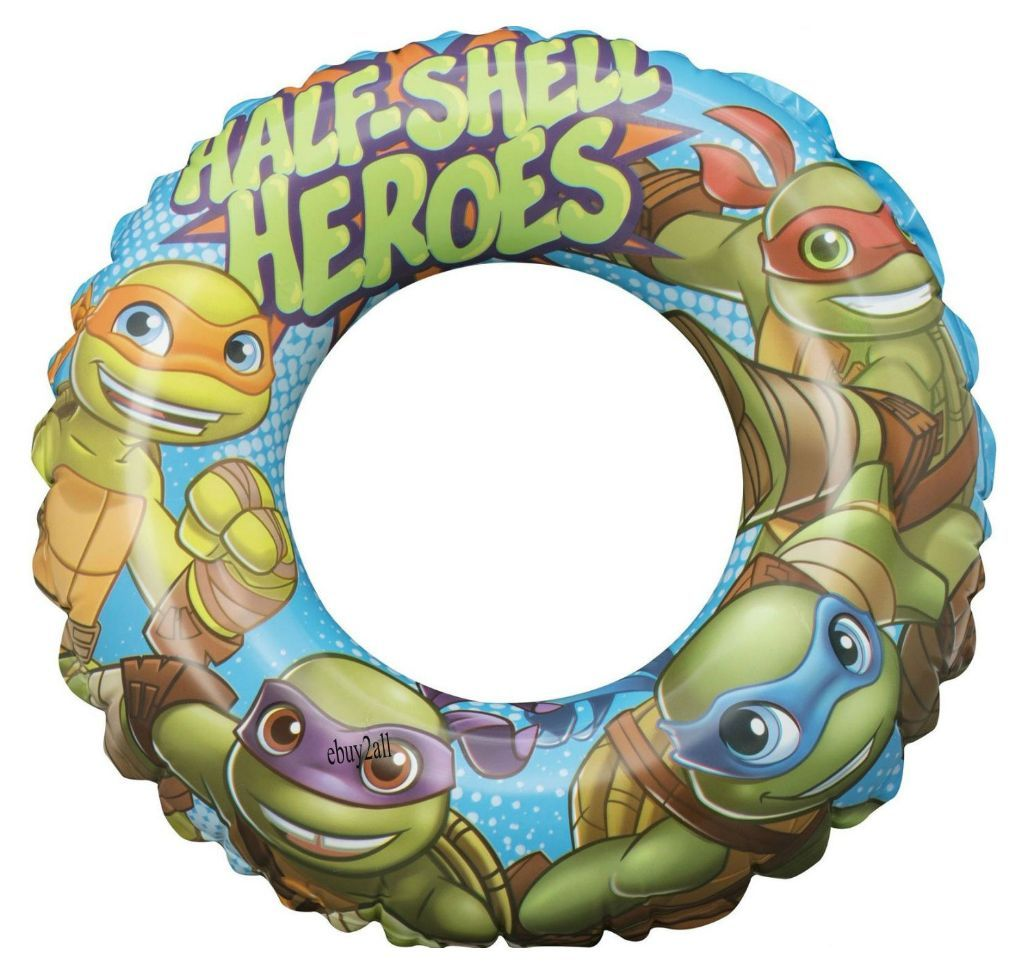 Turtles Half Shell Heroes Swim Ring