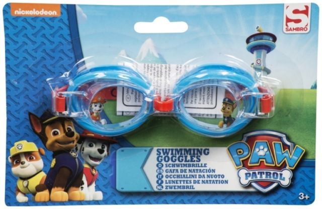 Paw Patrol 3D Character Swimming Goggles - Red