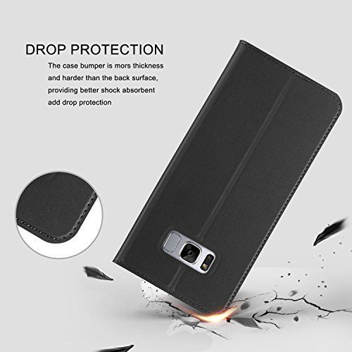 S8 Second Layer Leather Phone Case