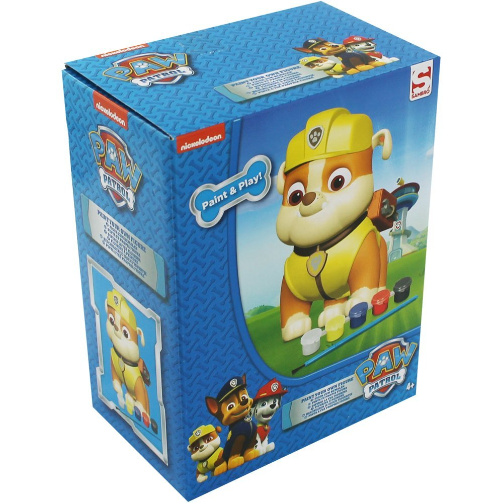 Paint Your Own Paw Patrol Rubble