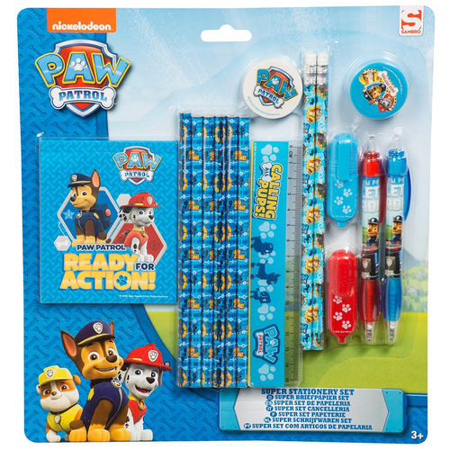Nickelodeon Paw Patrol Super Stationary Set