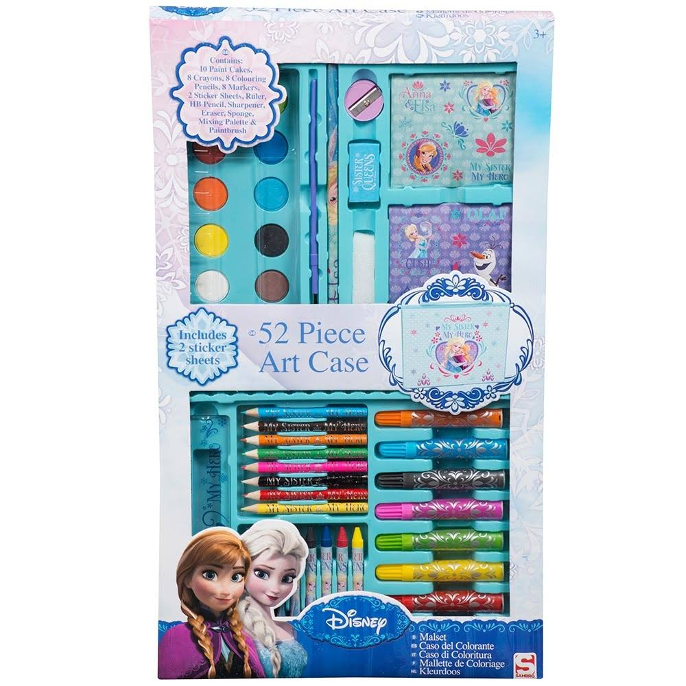 Frozen 52 Piece Art Case with Window