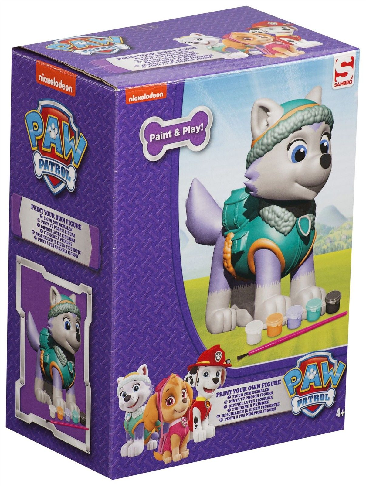 Paw Patrol Everest Paint Your Own
